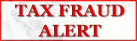 Tax Fraud Alert: Beware of Illegal Tax Preparation Fees