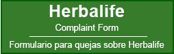 Herbalife Complaint Form